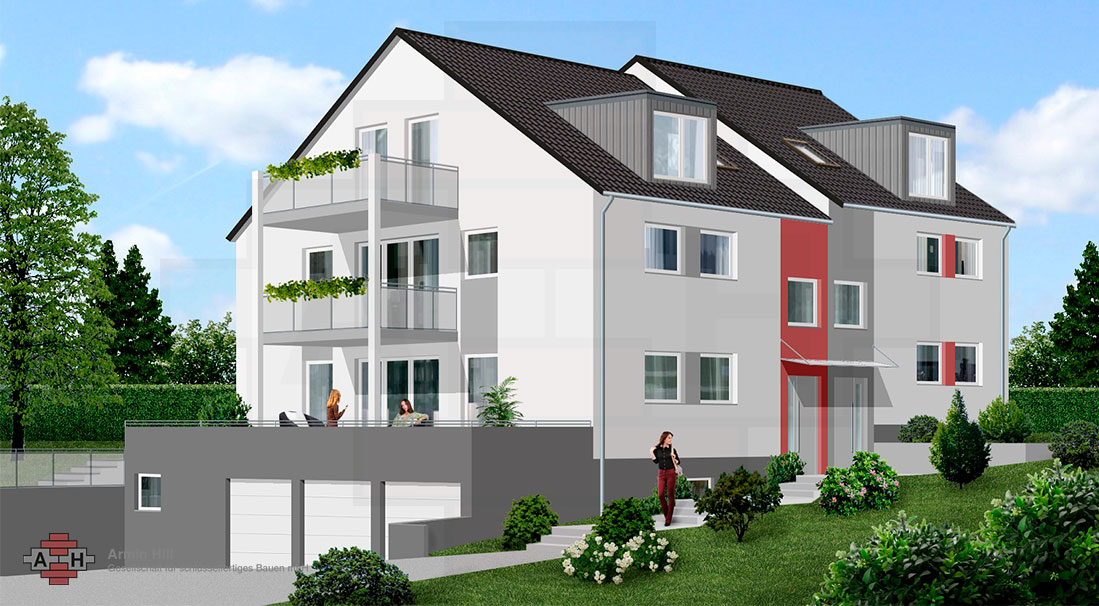 mainz laubenheim 2 doppelh user 2 maissonetten. Black Bedroom Furniture Sets. Home Design Ideas